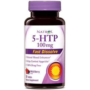 5-HTP HFF Fast Disolv 30 Tabs by Natrol (2588186116181)