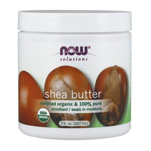 100% Pure Organic Shea Butter 7 oz by Now Foods (2590115299413)
