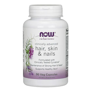 Advanced Hair - Skin and Nails 90 Caps by Now Foods
