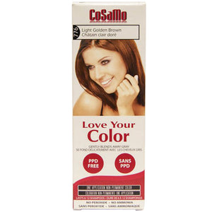 Cosamo Hair Color Golden Brown 3 oz by Love Your Color (2588183167061)