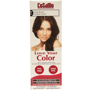 Cosamo Hair Color Dark Brown 3 oz by Love Your Color