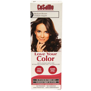 Cosamo Hair Color Medium Brown 3 oz by Love Your Color
