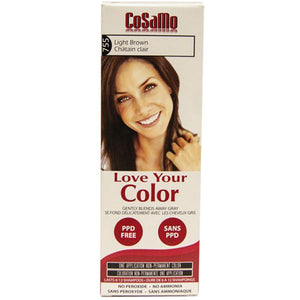 Cosamo Hair Color Light Brown 3 oz by Love Your Color