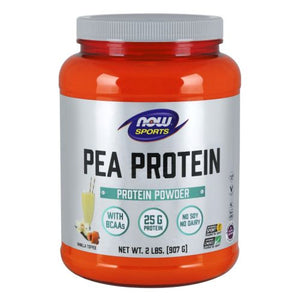 Pea Protein Vanilla Toffee 2 lbs by Now Foods (2587653505109)