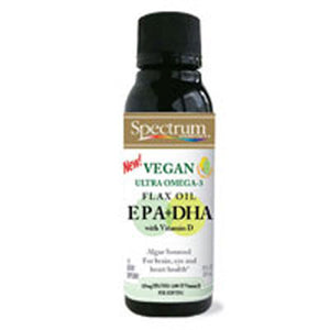 Vegan Ultra Omega-3 EPA Plus DHA 60 Softgels by Spectrum Oils (2587653046357)