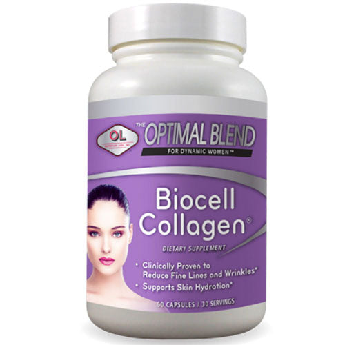 Optimal Blend Biocell Collagen 60 caps by Olympian Labs