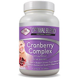 Optimal Blend Cranberry Complex 30 caps by Olympian Labs (2588168781909)