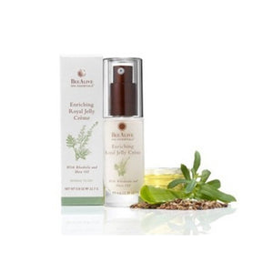 Enriching Royal Jelly Creme with Rhodiola and Shea Oil 0.8 Oz by Bee Alive (2588168192085)