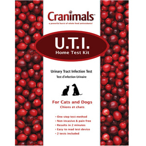 Cranimals UTI Test Kit For Cats 1 Kit by Cranimals (2588166848597)
