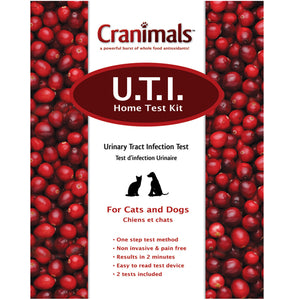 Cranimals UTI Test Kit For Dogs 1 Kit by Cranimals (2588166783061)