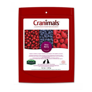 Cranimals Very Berry Supplement For Dogs and Cats 4.2 oz by Cranimals