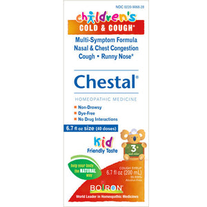 Children's Chestal Cough and Cold 6.7 fl oz by Boiron
