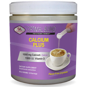 Calcium Plus 85.8 gms by Olympian Labs (2588165046357)
