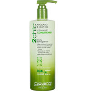 2chic Ultra Moist Avocado and Olive Oil Conditioner 24 oz by Giovanni Cosmetics (2587649376341)