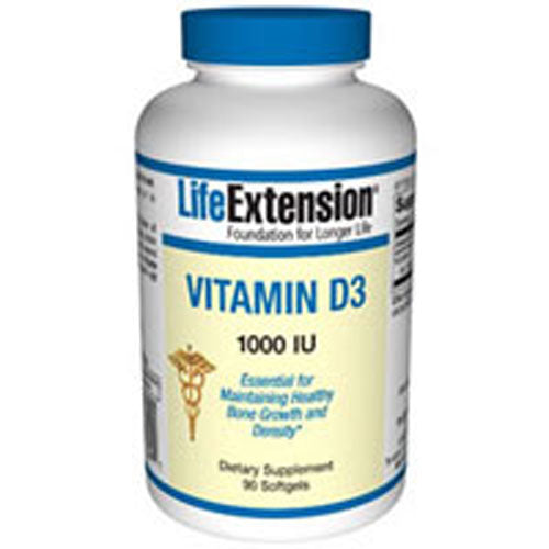 Vitamin D3 90 Soft gels by Life Extension