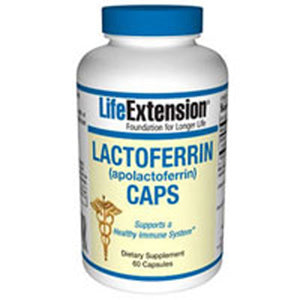 Lactoferrin - apolactoferrin - Caps 60 Vcaps by Life Extension