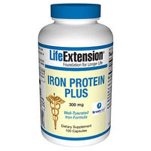 Iron Protein Plus 100 Veg Capsules by Life Extension