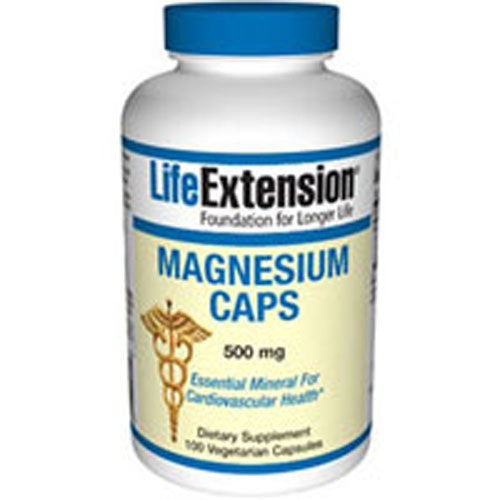 Magnesium Caps 100 Vcaps by Life Extension