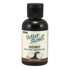 Better Stevia Liquid Sweetener Coconut 2 fl oz by Now Foods (2587644854357)