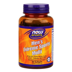 Men's Extreme Sports Multivitamin 90 sgels by Now Foods (2587644264533)