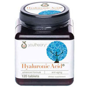 Advanced Hyaluronic Acid 120 Tabs by Youtheory
