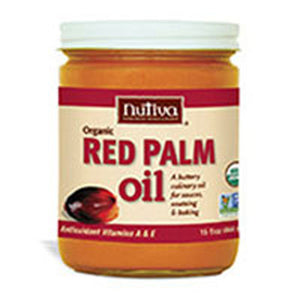 Organic Red Palm Oil 15 oz by Nutiva