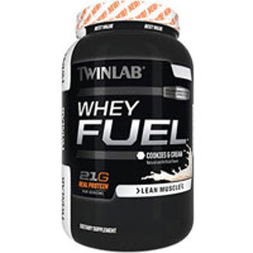 Whey Fuel Cookies and Cream 5 Lb by Twinlab