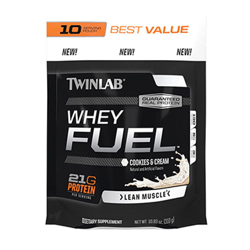 Whey Fuel CC 10 Serving Pouch 1 Lb by Twinlab
