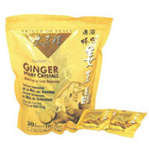 Ginger Honey Crystal Packets 30 Count by Prince Of Peace