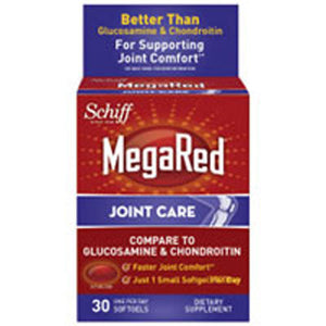 Mega Red Joint 30 Soft gels by Schiff/Bio Foods (2588156821589)