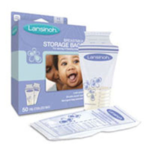Breast Milk Storage Bags 50 ct by Lansinoh (2588156166229)