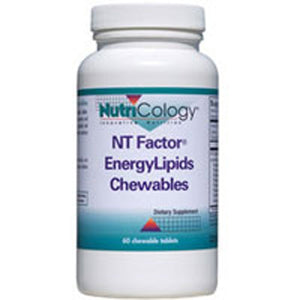 NT Factor Energy Lipids Chewable 60 Tabs by Nutricology/ Allergy Research Group