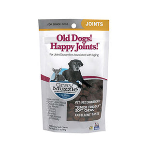 Gray Muzzle Old Dog! Happy Joints! 90 Chews by Ark Naturals (2588155805781)