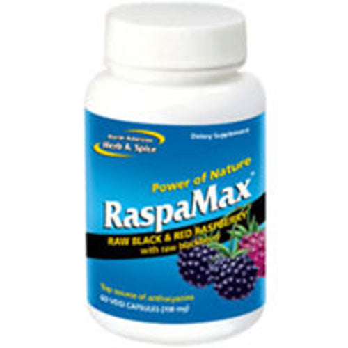 RaspaMax 60 Caps by North American Herb & Spice