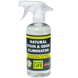 Natural Stain and Odor Remover 16 oz by Better Life (2588152856661)