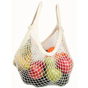 Organic Cotton Tote Handle String Bag Natural 1 Bag by Eco Bags (2588152102997)