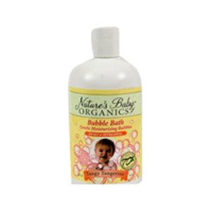 Bubble Bath Tangy Tangerine 12 oz by Nature's Baby Organics (2588150333525)