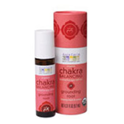 Chakra Balancing Aromatherapy Roll On Grounding Root 0.31 oz by Aura Cacia