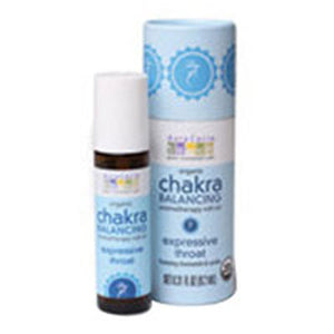 Chakra Balancing Aromatherapy Roll On Expressive Throat 0.31 oz by Aura Cacia