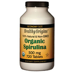 Spirulina 720 Tabs by Healthy Origins
