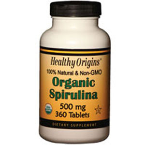 Spirulina 360 Tabs by Healthy Origins