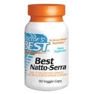 Natto-Serra 90 Veggie Caps by Doctors Best (2587635056725)