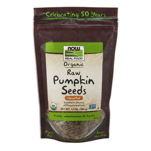 Organic Pumpkin Seeds 12 OZ by Now Foods (2588146073685)