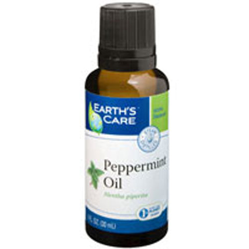 Peppermint Oil 100% Pure and Natural 1 OZ by Earth's Care