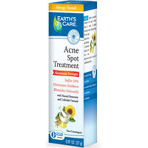 Acne Spot Treatment-10% Sulfur 0.97 OZ by Earth's Care (2587632500821)