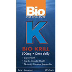 Bio Krill 45 SOFTGEL by Bio Nutrition Inc (2587631386709)