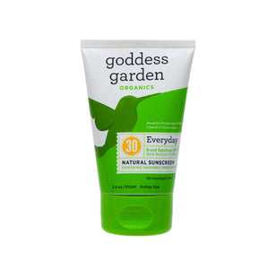 Natural Sunscreen SPF 30 3.4 OZ by Goddess Garden (2587630960725)
