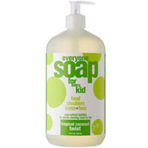 Everyone Soap For Kids Tropical Coconut Twist 32 OZ by EO Products (2587630796885)