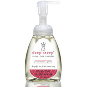 Foaming Hand Wash Passion Fruit Guava 8 OZ by Deep Steep (2588139126869)