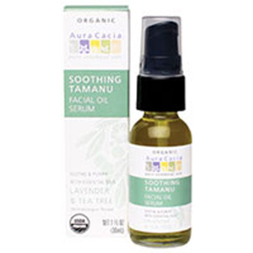 Soothing Tamanu Facial Oil Serum 1 OZ by Aura Cacia